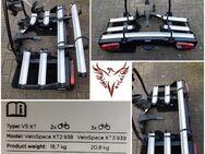 Fahrradheckträger für die Anhängerkupplung Thule VeloSpace XT 3 (939) für 3 / 4 Fahrräder mieten - Rheinberg Zentrum