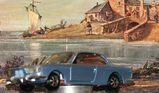 BMW 2000 CS Modellauto von Märklin 1:43 blau met.2