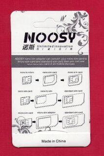 "Noosy SIM-CARD Adapter Set f. Nano / Mikro / Standard Karten ""NEU"" #1 - Andernach"