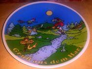 Wandteller von Harz genaues Jahr ?(1989-1992) - Zerbst (Anhalt) Zentrum