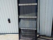 Info-Metall-Ständer, schwarz, neuwertig - Simbach (Inn) Zentrum