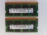 Arbeitsspeicher 2*2GB, 2Rx8; PC3, Samsung - Zülpich