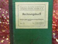 Antikes Rechnungsbuch / Sparbuch der Allgemeinen Deutschen Creditanstalt 1919 - Zeuthen