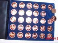 Kupfer Pfennige Medaillen Der Punkt Verlag 1985 Schnäppchen Album Samt - Bottrop
