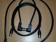 9 x Stück Koaxialkabel 95 dB / 75 Ohm, 3C-2V,Stecker zu Buchse von 30 cm -10 m - Verden (Aller) Zentrum