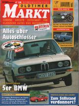 oldtimer markt Heft 12 2002 BMW 5er
