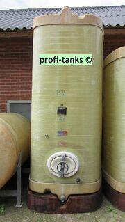 P34 Polyestertank 6.000 L GFK-Tank Melassetank Molketank Wassertank Regenauffangtank Gülletank AHL/ASL-Tank - Nordhorn