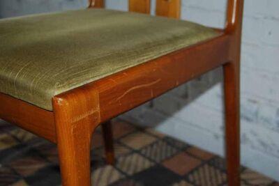 Einzelner LÜPKE Stuhl im Dänischen Design / Holzstuhl in Kirschbaum massiv - Zeuthen