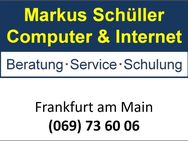Computer & Internet - Beratung, Schulung & Service in Frankfurt am Main - Laptop Notebook PC Tablet Handy - Frankfurt (Main)