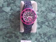 Mädchen Armbanduhr von s.Oliver schwarz/pink - Sankt Leon-Rot