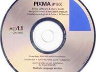 CANON ip1500 Setup-Software & Benutzerhandbuch / Driver CD-R (1) - Andernach