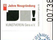 """Citykurier: MiNr. 25, 02.07.2009, """"10 Jahre Neugründung Kunstverein Gera"""", Satz, Bogennummer, postfrisch - Brandenburg (Havel)"""