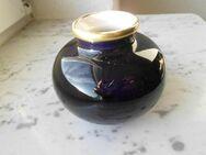 Kobalt Vase 837 Blumenvase Kugelvase Deko Vintage Retro 3,- - Flensburg