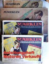 3 alte Märklin Metallbau Hefte - Einzelverkauf