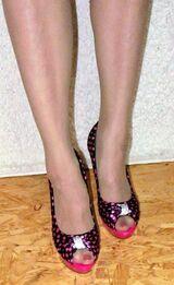 High Heels, Pink, Pumps