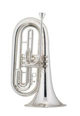 Jupiter Basstrompete, Mod. 560 S in versilberter Ausführung. Neuware