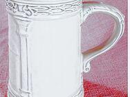 Bierkrug aus Keramik - Mit antikem Design - Von GERZ - ca. 0,6 Lt. Volumen - Groß Gerau