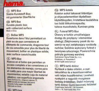 iPod shuffle 3G SilverClip Hama Hardcase , neu, OVP NP 8 Euro - Celle