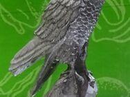 Vogel Habicht aus Zinn für Setzkasten - Spraitbach