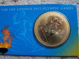 """Gedenkmünze """"The London 2012 Olympic Games"""" Dressurreiten"""