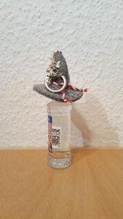 Rauniker Edelbrände Glockner Spirituose Schnaps 36% Alc. Vol. 0,04 Ltr.+Filzhut - Nürnberg