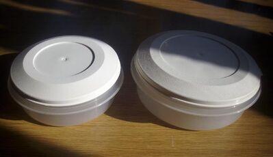 Schüssel mit Deckel 2 Stück aus Plastik für 0,75/1,25l - Furth