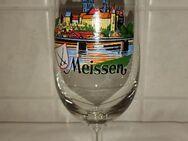 Albrechtsburg Schloss Meissen Porzellan Manufaktur Ansicht Glas Tulpe DDR