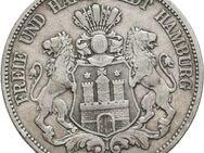 5 Mark Kaiserreich Hansesatdt Hamburg. 1876-J,Lot 854 - Reinheim