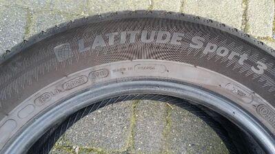 255 / 55 R 17 104 V,  MICHELIN, Modell Latitude Sport 3, Green X - Wilnsdorf
