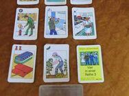 DDR Kartenspiel Vier in einer Reihe 3 / Altenburger Spielkartenfabrik 1978 - Zeuthen