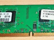 SAMSUNG 1 GB 2Rx8 PC2-5300U-555-12-E3 M378T2953EZ3-CE6 DDR2