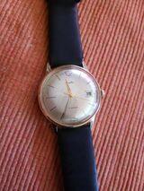 Seltene Vintage Armbanduhr Mauthe Handaufzug 1960s
