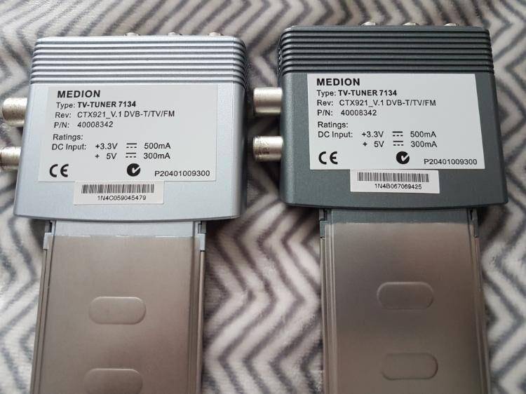 Medion  TV -Tuner 7134  zwei Stück. Preis ist  für beide. - Kassel Brasselsberg