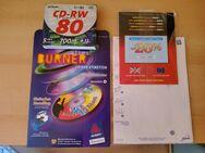 Verkaufe 8x DV, 5x CD - RW Rohlinge und CD/ DVD Etiketten ca. 57 Stk. - Werneuchen