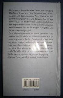 """""""Schluss mit lustig - Das Ende der Spaßgesellschaft"""" von Peter Hahne, 143 Seiten, Johannis Verlag, stammt aus 2005, ISBN: 3501051808, zum Schutz beim Gebrauch schon eingebunden, sehr guter Zustand, 4,- € - Unterleinleiter"""