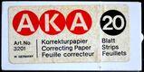 Korrektur-Papier (ähnlich Tipp-Ex) von Uhu