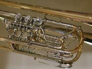 J. Scherzer Konzert - Trompete, Ref. 8228GT-L mit Wiener Klappe, Neuware - Hagenburg
