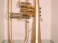 B & S 3145 G - E Goldmessing Elaboration Flügelhorn - Made in Germany - Neuware. - Hagenburg