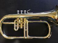 B & S Flügelhorn Mod. 146, Made in Germany inkl. Koffer - Hagenburg