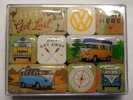 "9-teiliges Magnet-Set ""Let's get Lost"" des VW T1 Bulli - Bochum"