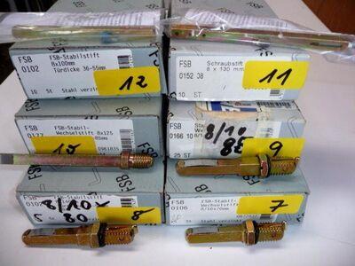 Diverse FSB-Stabil-Patent-Wechselstift 016610. 8/10x85mm,909.86.785 - Ritterhude