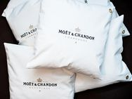 1x Moet Moët Chandon Ice Imperial Kissenbezug Kissen Champagner Bar Bistro Cushion Pillow Lounge