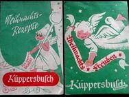 2 alte Weihnachts Rezepthefte der Firma Küppersbusch - Niederfischbach