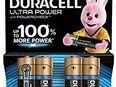 Duracell Ultra Power Typ AA Alkaline Batterien, 4er Pack / NEU & OVP - Heidelberg