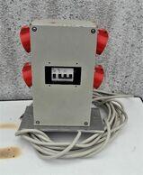 Strom und. Druckluft Verteilerkasten