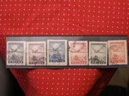 Polen Flugpostmarken1946,MiNr.Pl.428- 33,Lot 262