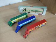 4 LKW-Modelle - Rees