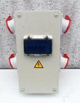 Verteilerkasten für Strom u. Druckluft