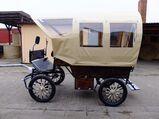Kleiner Planwagen,neu!