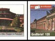 """Die Briefboten: MiNr. 11 - 12, 05.10.2006, """"Neueröffnung des Hans-Otto-Theaters in Potsdam"""", Satz, postfrisch - Brandenburg (Havel)"""